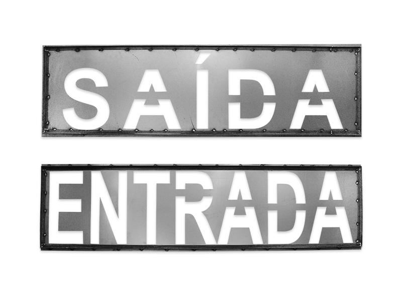GABARITO PARA PINTURA DE LETRAS, NÚMEROS E SÍMBOLOS (MOLDE)